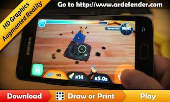 Screenshot of ARDefender