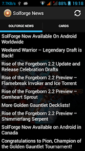 News for Solforge - screenshot