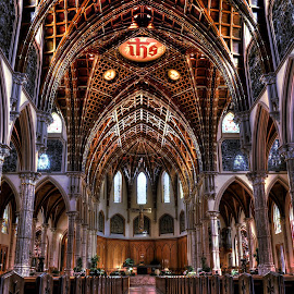 Holy Name Cathedral by Sylvia Smialkowska - Buildings & Architecture Places of Worship ( church, holy name cathedral, churches, cathedral, architecture, chicago, chicago cathedral )