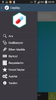 Screenshot of Cep İlaç