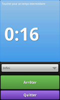 Screenshot of Chronometer Pro