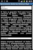 Screenshot of Streszczenia Lektur PRO