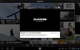 Screenshot of Zapiks