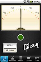 Screenshot of Gibson Learn & Master Guitar