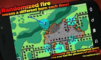 Screenshot of FireJumpers - Wildfire RTS