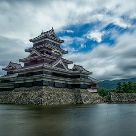 matsumoto castle by Anjas  Noviantoro - Landscapes Travel