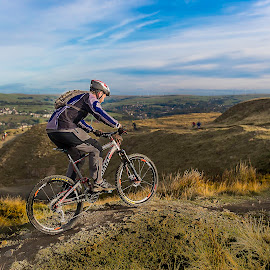 by Nick Moor - Sports & Fitness Cycling ( mountain biking, quarry, racing, enduro, mtb racing )