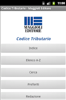 Screenshot of Codice Tributario