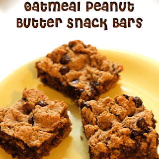 Oatmeal Peanut Butter Snack Bar