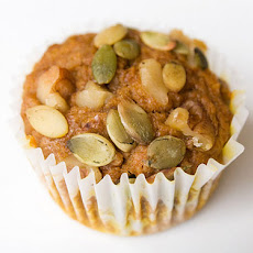 Spiced Pumpkin Muffins with Pepitas