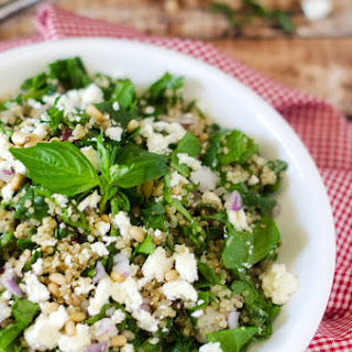Basil Pine Nut Quinoa Recipes