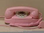 Desk Phones - Western Electric 702B Pink Princess