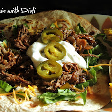 Best Mexican Style Shredded Beef (Slow Cooker)