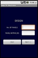 Screenshot of Solar PV Calculator Pro