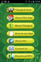 Screenshot of Tahajjud Salat