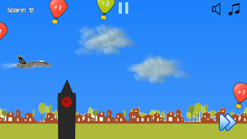 Screenshot of Aircraft Fighting for Child
