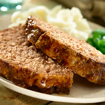 Slow-cooked Souperior Meatloaf