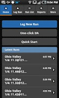 Screenshot of RaceIQ Drag Race Racing Log