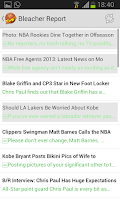 Screenshot of Basketball News