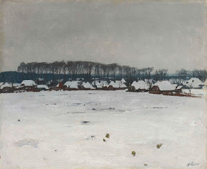 RIJKS: Willem Witsen: Winter Landscape 1922