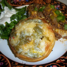 Green Chile'n Cheese Biscuit