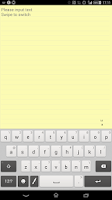 Screenshot of Techo Note (memo / notepad)