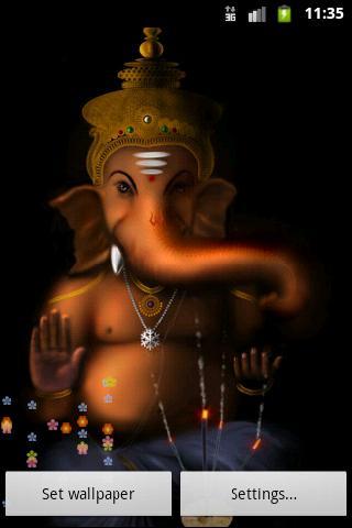主Ganesh神祝福壁紙