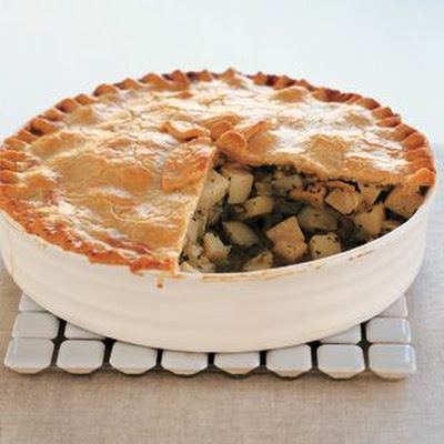 Celery Root & Potato Potpie