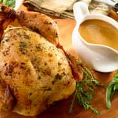 Herb-roasted Chicken & Gravy
