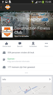 Construction Fitness Club - screenshot