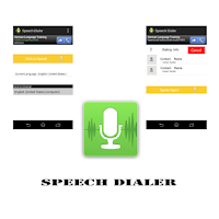 Screenshot of Speech Dialer ( Speak n Dial)