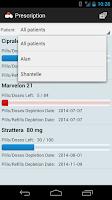 Screenshot of Prescription Monitor Free