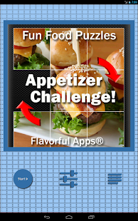 Fun Food Puzzles : Appetizers - screenshot