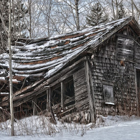 Winter Scene by Brad Chapman - Buildings & Architecture Decaying & Abandoned (  )