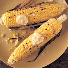 Grilled Sweet Corn with Maple-Cayenne Butter