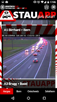 Screenshot of Stauapp Traffic-Cams German