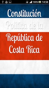 Constitución de Costa Rica - screenshot