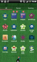 Screenshot of Flower 2 GO Launcher EX Theme