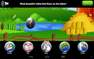 Screenshot of Kids Animals Game