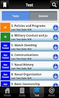 Screenshot of US Navy PMK Pro Study Guide