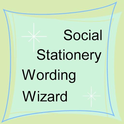 Social Stationery Wording LOGO-APP點子