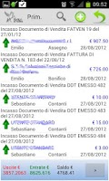 Screenshot of gestionale Pegaso Smart