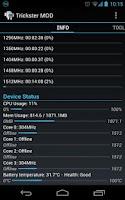 Screenshot of Trickster MOD Kernel Settings