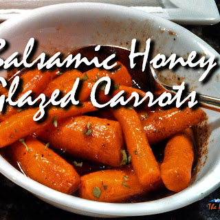 Balsamic Honey Glazed Carrots