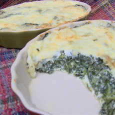 Low-Carb Muenster Spinach Pie