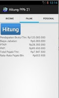Screenshot of Hitung PPh 21