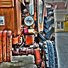 Trackter by Jo Polyxromos - Transportation Other ( farm, greece, transportation )