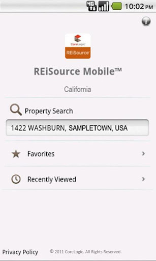 REiSource Mobile California™
