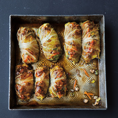 Asian-Style Cabbage Rolls