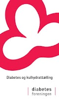 Screenshot of Diabetes og kulhydrattælling